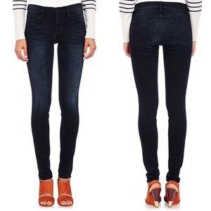 FRAME DENIM   Le Skinny De Jeanne Dark Wash Skinny Jeans Size 25